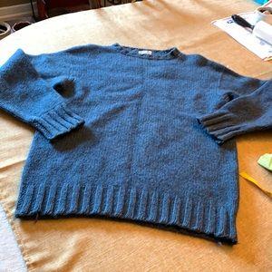 Vintage all Shetland wool sweater